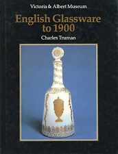 Antique English Glass before 1900 in Victoria Albert Museum / Illustrated Book