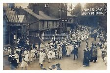 rp14155 - Peace Day Parade in London Road , East Grinstead , Sussex - photo 6x4