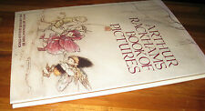 Arthur Rackham's Book of Pictures Intro Sir Arthur Quiller-Couch 1st HbDj UNread