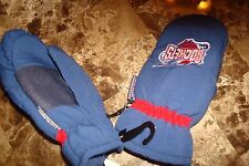 HOUSTON ROCKETS  CHILDS THINSULATE INSULATED GLOVES MITTENS SKI WATERPROOF