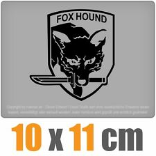 Fox Hound 10 x 11 cm JDM Decal Sticker Aufkleber Racing Die Cut
