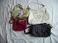 4 x Handtasche Umhängtasche Kindertaschen Top Zustand Tasche Schultasche