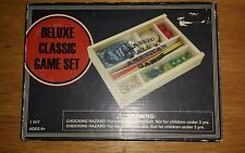 Deluxe Classic All American Game Set - Wooden Box - New