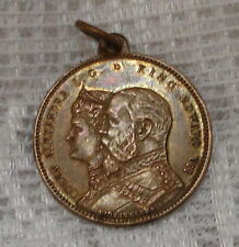 King Edward VII Queen Alexandra L. G. Married 1863 Accession 1901 Medal