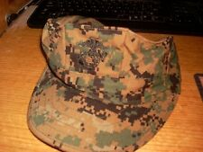 8 POINT USMC COVER HAT WOODLAND MARPAT SEKRI  SIZE X  SMALL