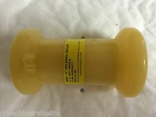 "BOAT TRAILER PARTS 5"" SPOOL ROLLER HOLE 1/2"" YELLOW 56500"