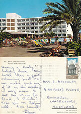 1980's HOTEL MARE NOSTRUM IBIZA SPAIN COLOUR POSTCARD