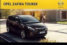 Opel Zafira Tourer 08 / 2011 catalogue brochure