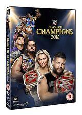 WWE Clash Of Champions 2016 [DVD] *NEU* Region Code 2 *SOFORT LIEFERBAR*