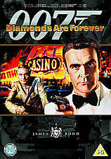 DIAMONDS ARE FOREVER DVD JAMES BOND 007 REMASTERED EDITION Sean Connery New UK