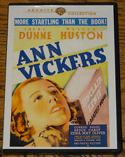 ANN VICKERS 1933 IRENE DUNNE WALTER HUSTON ALL R0 DVD SENT FROM THE UK