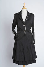 Black Skirt Suit - Tuzzi - Size 18-20 - Brand New With Tags