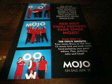 RED HOT CHILI PEPPERS - Publicité de magazine / Advert !!! MOJO !!! UK !!!