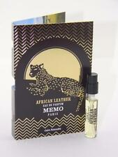 MEMO African Leather Eau De Parfum EDP 2ml Vial Sample Spray With Card