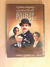 DVD SERIES / HERCULE POIROT N° 9 / SAISON 3 / 2 EPISODES / 140 MNS / NEUF CELLO