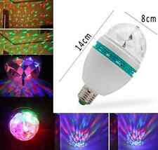 Hot Rotating Disco KTV Bar Party Stage Lighting LED RGB Crystal Ball Light one