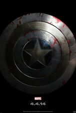 Captain America movie poster Chris Evans poster - 11 x 17 inches Shield advance