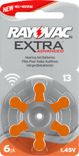 60x Hörgerätebatterie Typ 13 / Orange Rayovac Extra Advanced - MHD_2020