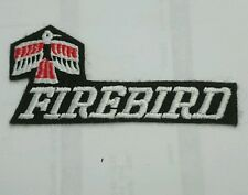 Brand new Firebird Pontiac embroidery patch jacket t shirt iron on