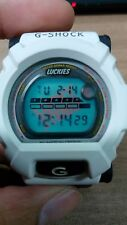 Lucky G-Shock Vintage DW-002 Red White HipHop Luckies Strike Limited Edition