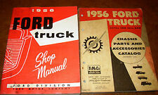 1956 56 Ford Truck Service Shop Repair Workshop Manual Parts Factory F100 to 600