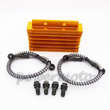 CNC Oil Cooler Cooling Radiator For Chinese Pit Dirt Bike BSE Kayo YCF Thumpstar