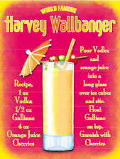 Harvey Wallbanger, Cocktail Bar, Pub & Restaurants, Novelty Fridge Magnet