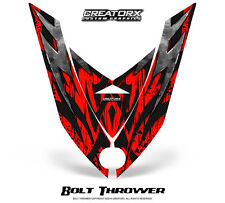 SKI-DOO REV XP SNOWMOBILE HOOD GRAPHICS KIT CREATORX DECALS BTR