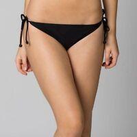 FOX RACING WOMENS SWIMWEAR HERO SIDE TIE BOTTOM BLACK girls swimsuit bikini NEW