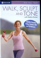 Walk Aerobics Exercise DVD - GAIAM Walk, Sculpt and Tone with Debbie Rocker!