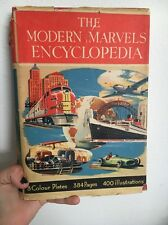 The Modern Marvels Encyclopedia Crossland Hardcover Collins Clear-Type Press