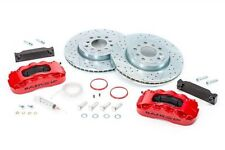 "BAER Brake System 13.5"" Front PRO 6P Kit - Red / Black 07-16 Jeep Wrangler JK"