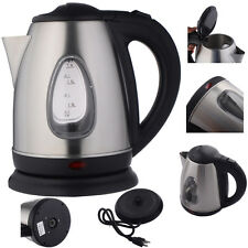 New 1500W 1.8 Liter Electric Kettle Tea Hot Water Boiler Heater Stainless Steel