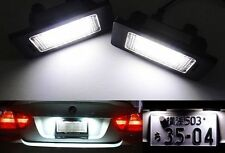 License Plate Light LED No Error For BMW E81 82 E90 92 E39 E60 E63 E70 E71 E85 M