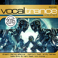 CD Vocal Trance Volume 1 von Various Artists    2CDs