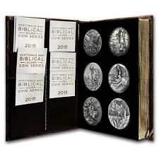 2015 6-Coin Silver Set - Biblical Series (Matching Serial #'s) - SKU #93978