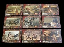 2012 SPARTACUS TRADING CARDS  'GLADIATORS IN ACTION'  9 CARD CHASE SET