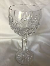 """Waterford Cut Crystal LISMORE Balloon Wine Hock Goblet Stem Glass-7 1/2"""""""