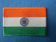 India Indain Country Flag Embroidered Patch National Sow Sew On Patch Badge 1