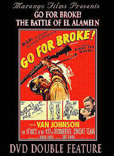 Go For Broke/Battle of El Alamein, Very Good DVD, ,