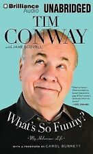 What's So Funny? : My Hilarious Life by Tim Conway (2014, MP3 CD, Unabridged)