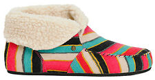 E11 - Volcom Good Spirits Slippers / Shoes * New Womens 8 Multi - #20066
