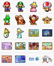 Nintendo Limited Wii U 3DS Mini Mario & Friends amiibo Challenge Game DLC JAPAN