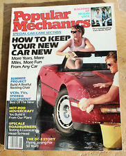 Popular Mechanics May 1986. DC-3, Hot-Rod Hovercraft, Upscale Roadburners, VCRs