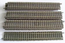 10x 6101 grade Gleise 200mm Profigleis Fleischmann Spur H0 (7)