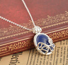Hot The Vampire Diaries Katherine Anti-sunlight Lapis Lazuli Vintage Necklace