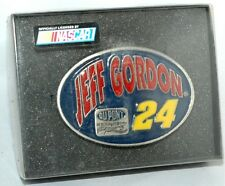#4236 1995 Jeff Gordon #24 Special Edition Belt Buckle *PEWTER* NEW Dupont