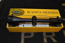 "Weaver Kaspa 4-16x44mm Matte Black Side Focus Rifle Scope 1"" Tube 849810"