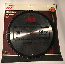 "ACE Professional Table/Miter/Slide Miter Saw Blade 10"" 60T 5/8"" Arbor"