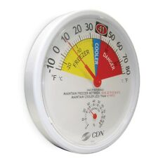 CDN Large Fridge Freezer Thermometer & Hygrometer Industrial Office Use  1751052
